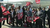 Fans give San Francisco 49ers a big send-off