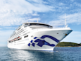 A Princess Cruises passenger died after falling overboard, and investigators are reportedly trying to figure out if she was murdered