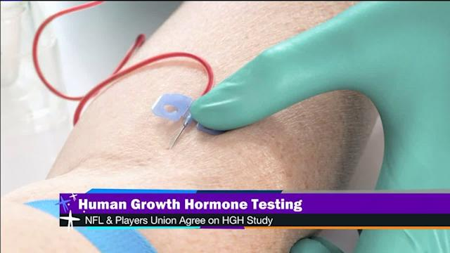 NFL could test for human growth hormones