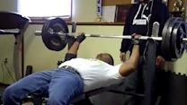 Dad Benches 300lbs On 60th Birthday