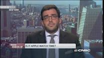 Price not a factor for Apple watch?