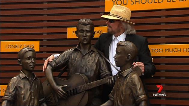 Bee Gees statue unveiled