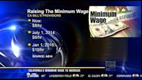 California's minimum wage to increase