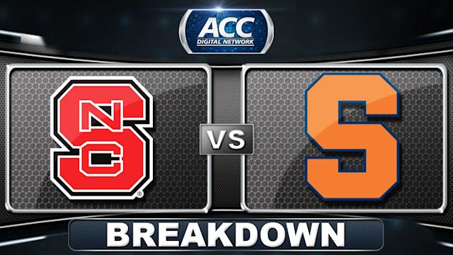 NC State vs Syracuse Breakdown | 2014 ACC Men's Basketball Tournament
