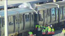 Dozens injured after 2 CTA trains collide