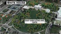 White House lockdown: Man tried to sneak through gate, Secret Service says