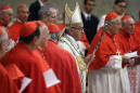Pope gives prestigious red hats to 5 new cardinals