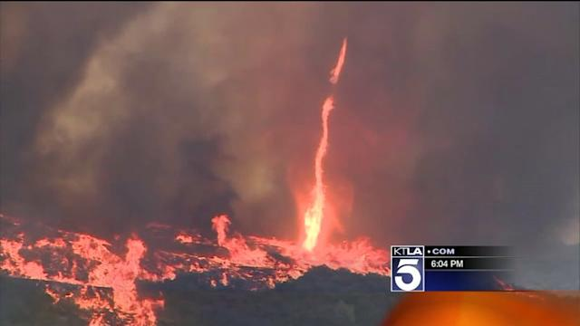 Fires Raging in Several Communities Create a State of Emergency in San Diego County