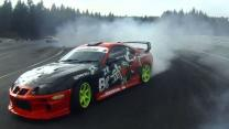 Modified Sports Cars Drift Around Corners At Up To 140mph