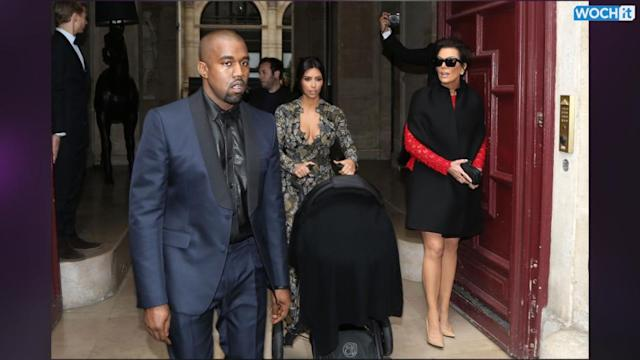 Kris Jenner And Chissy Teigen Wear The Same Alexander McQueen Jacket During Kimye Wedding Weekend
