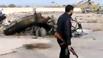 Raw: Syria rebels capture air base near Damascus