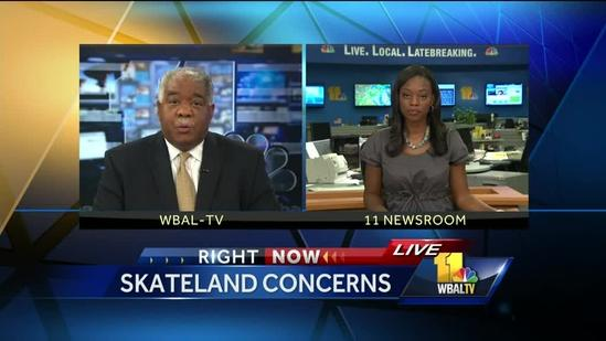 Community: Skate Land teen crowd out of control