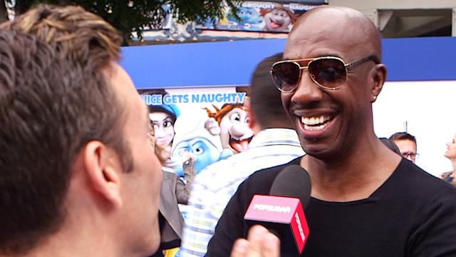 Video: Watch JB Smoove Scream For Katy Perry at the Smurfs 2 Premiere