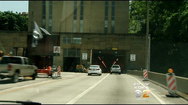 More Work This Weekend On The Squirrel Hill Tunnel