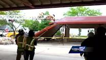 West Allis farmer's market roof partially collapses
