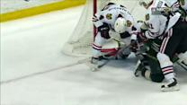 Crawford drops stick for desperation blocker save
