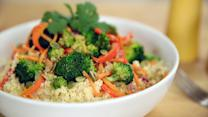 "Load Up on Veggies With This Cauliflower ""Rice"" Stir-Fry"