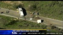 First lawsuit filed in deadly tour bus crash