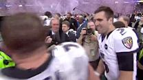 Joe Flacco drops a celebratory f-bomb