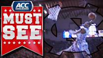 UNC's J.P. Tokoto Elevates For Huge Jam Over Hokie Defender | ACC Must See Moment