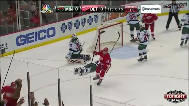 Minnesota Wild at Detroit Red Wings - 03/23/2014