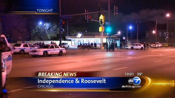 Chicago police officer hit by car