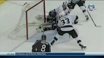 Artem Anisimov powers his way to net for goal