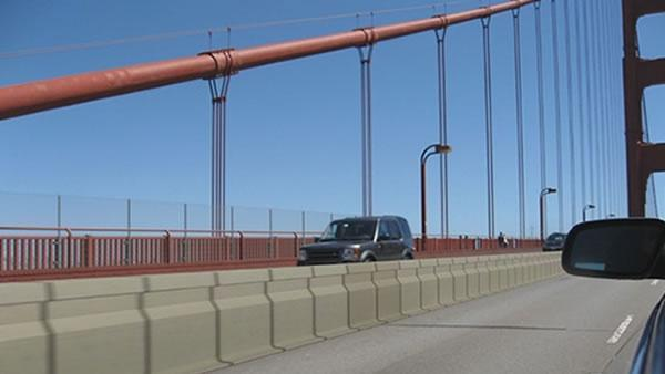 Golden Gate Bridge will get new dividing barrier