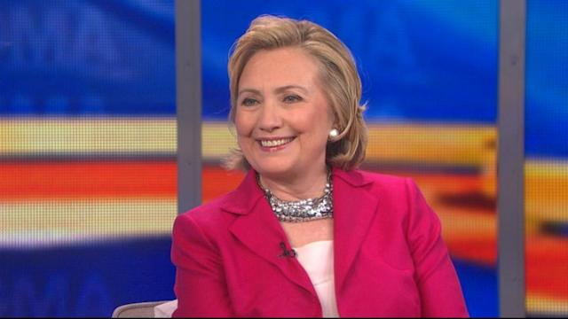 Hillary Clinton Discusses Sexism, Her Marriage, and Becoming a Grandmother