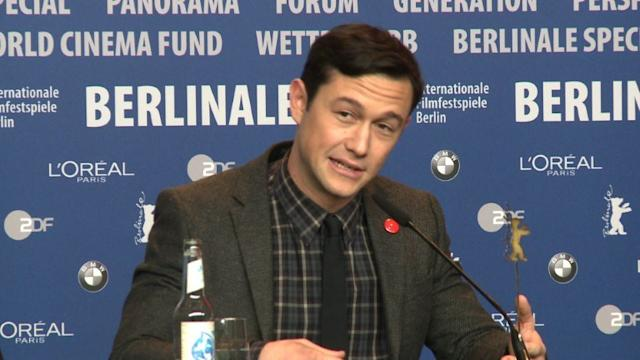 Gordon-Levitt's directorial film debut at Berlinale