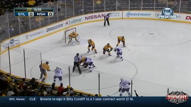 St. Louis Blues at Nashville Predators - 03/06/2014