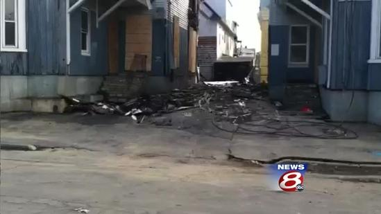 Governor tours fire damage in Lewiston