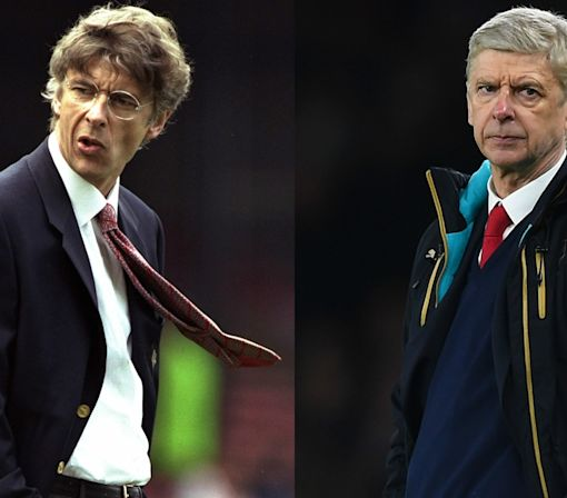 Liverpool top, DVDs just invented and no Harry Potter - the world when Wenger joined Arsenal