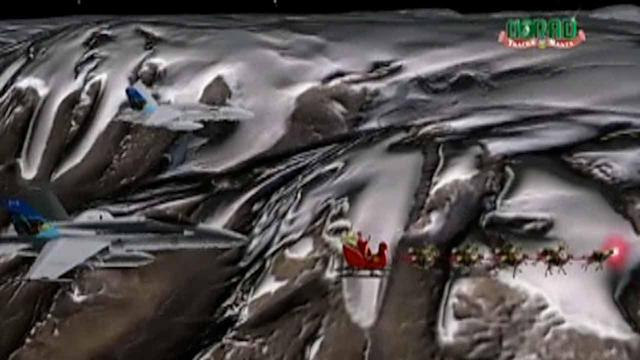 Santa to apppear with fighter jets on NORAD