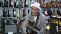 Valley blues legend reunites with treasured guitar