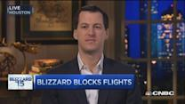 Airlines got ahead of storm: FlightAware CEO