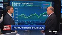 Cramer's Mad Dash: Thermo Fisher