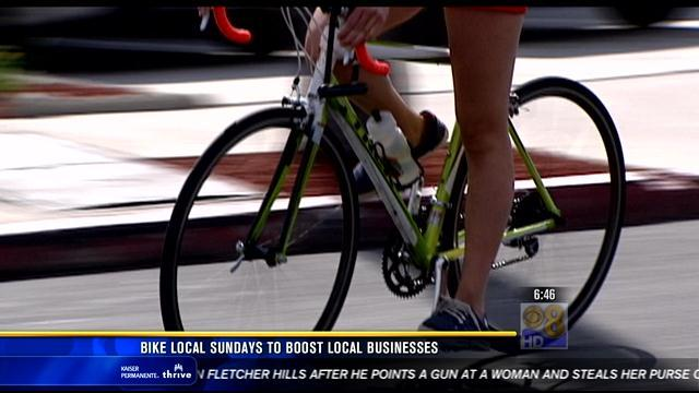 Bike Local Sundays to boost local businesses