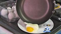 Frying pans tested for evenness, durability