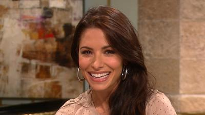 Sarah Shahi Talks Working With Sylvester Stallone