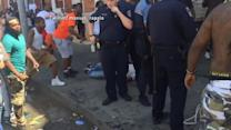 Tensions Rise Baltimore: Man With Weapon is Arrested