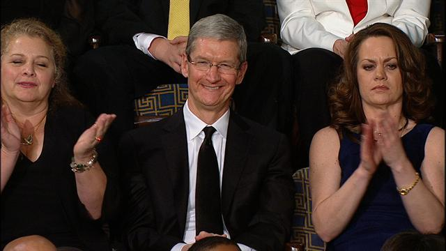 Obama mentions Apple Inc. in SOTU