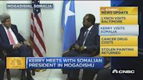 CNBC update: Sec. Kerry visits Somalia