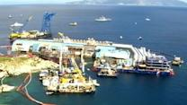 Costa Concordia Cruise Ship Recovery Effort