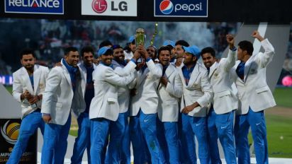 SK Flashback: India defy rain and hosts to lift 2013 ICC Champions Trophy title