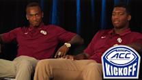 FSU's Jameis Winston & P.J. Williams Discuss Defending National Title | #ACCkickoff