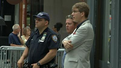 Raw Video: NYPD back at site of 1979 Patz case