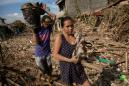 Philippines' typhoon deaths rise as worst floods in 45 years hit north