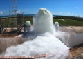 NASA's incredible water system dumps 450,000 gallons in about a minute
