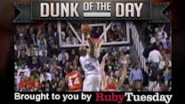 North Carolina's Vince Carter - Ruby Tuesday Dunk of the Day
